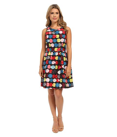 kensie Painted Dots Dress KSNK7747