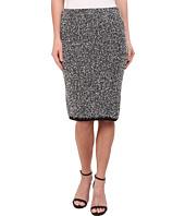 Calvin Klein - Contrast Eyelash Midi Skirt