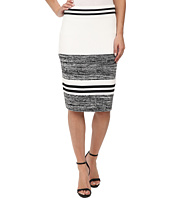 Calvin Klein - Marled Stripe Sweater Skirt