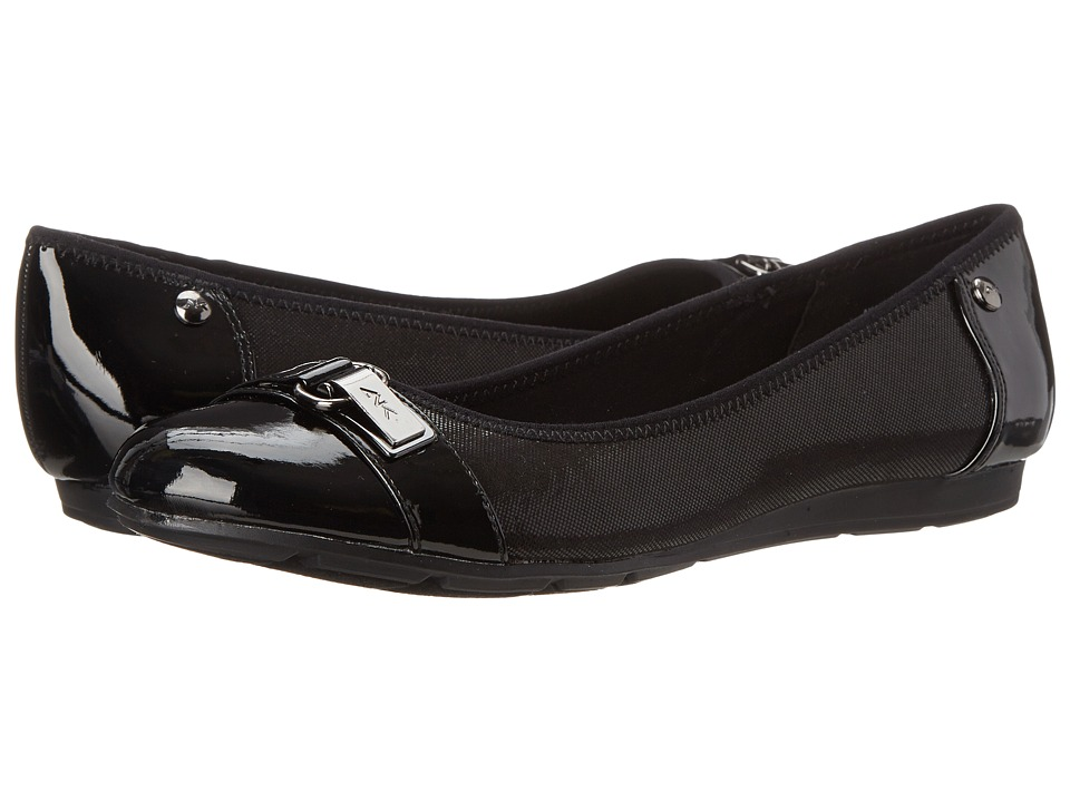 Anne Klein Able Black Womens Slip on Shoes