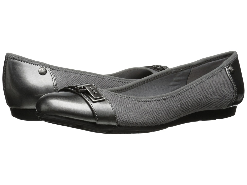 Anne Klein Able Pewter Womens Slip on Shoes