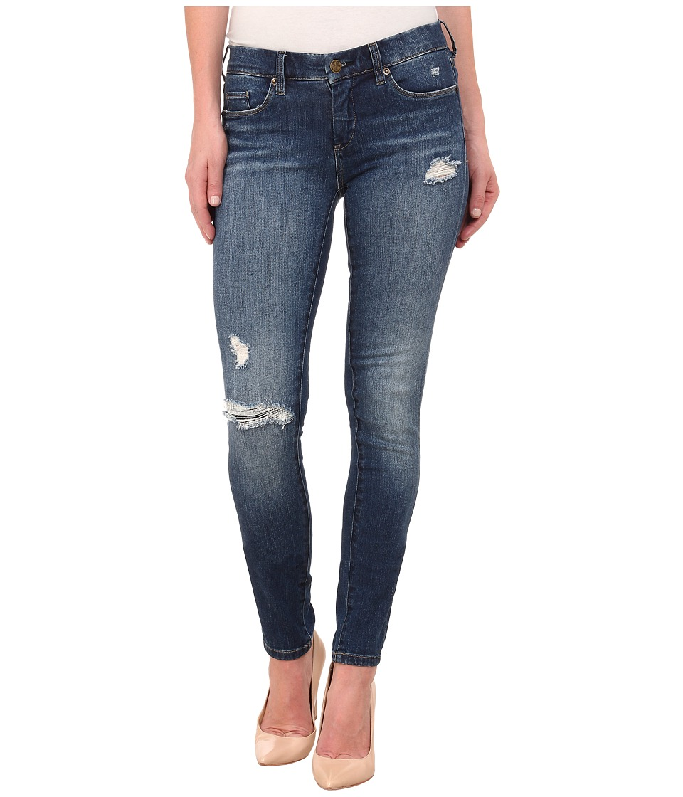 Blank NYC Ripped Skinny Jeans in Blue Blue Womens Jeans