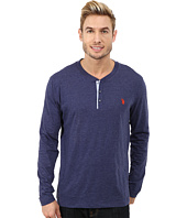 U.S. POLO ASSN. - Long Sleeve Slub Henley