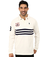 U.S. POLO ASSN. - Long Sleeve Rugby Polo
