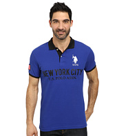 U.S. POLO ASSN. - Slim Fit Solid New York City Polo