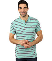 U.S. POLO ASSN. - Feeder Striped Interlock Polo
