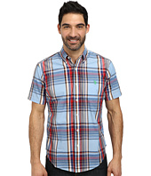 U.S. POLO ASSN. - Short Sleece Poplin Plaid Shirt