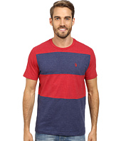 U.S. POLO ASSN. - Cut and Sewn Wide Stripe T-Shirt
