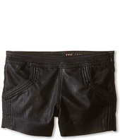 Blank NYC Kids - Netflix Boyfriend Vegan Leather Shorts (Big Kids)