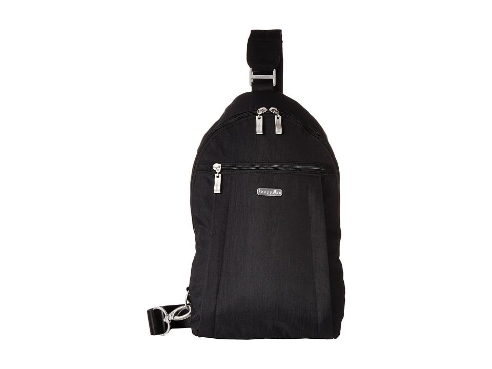 Baggallini Glide Sling Black/Sand Sling Handbags