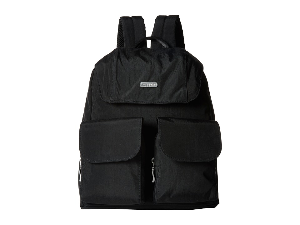 Baggallini - Mission Backpack (Black/Sand) Backpack Bags