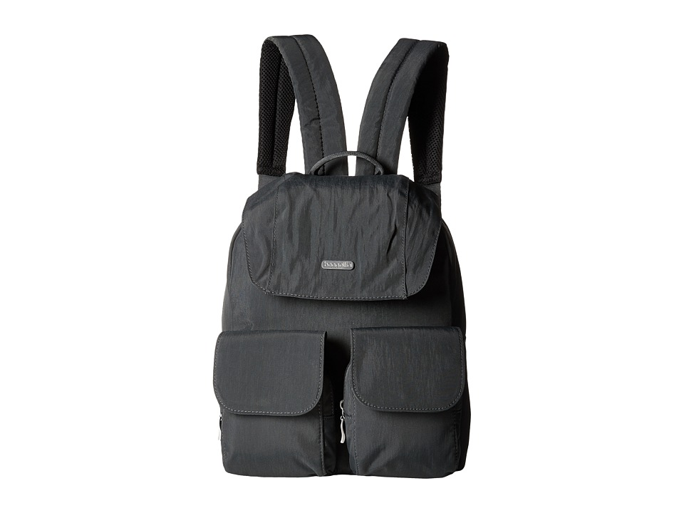 Baggallini - Mission Backpack (Charcoal) Backpack Bags