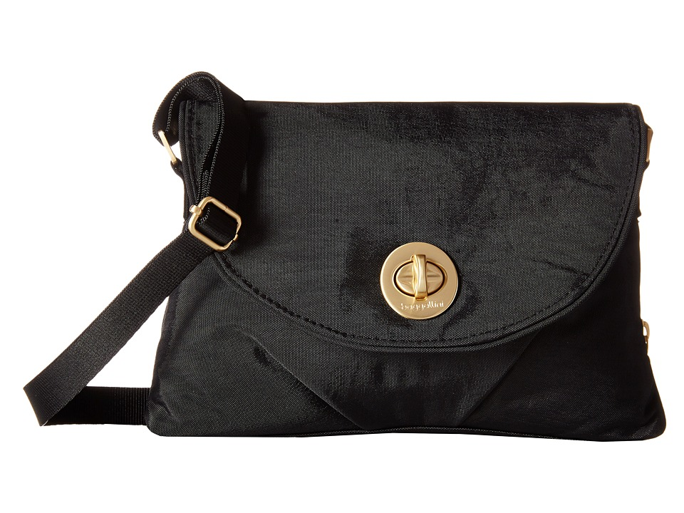Baggallini Gold Nassau Crossbody Black Cross Body Handbags
