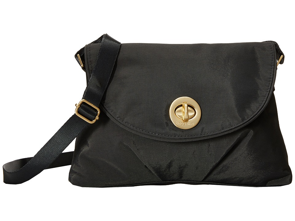 Baggallini Gold Nassau Crossbody Charcoal Cross Body Handbags