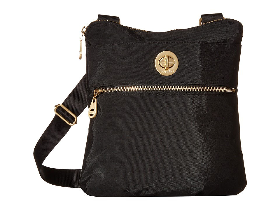 Baggallini Gold Hanover Crossbody (Black) Cross Body Handbags