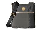 Baggallini Gold Hanover Crossbody (Charcoal)
