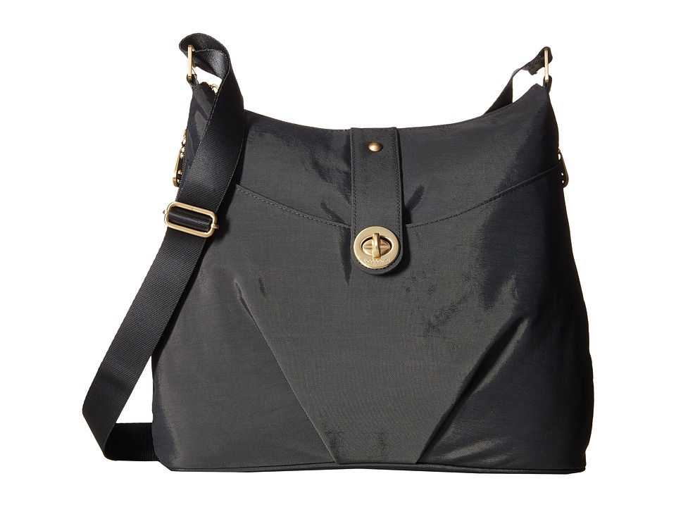 Baggallini Gold Helsinki Bag (Charcoal) Handbags