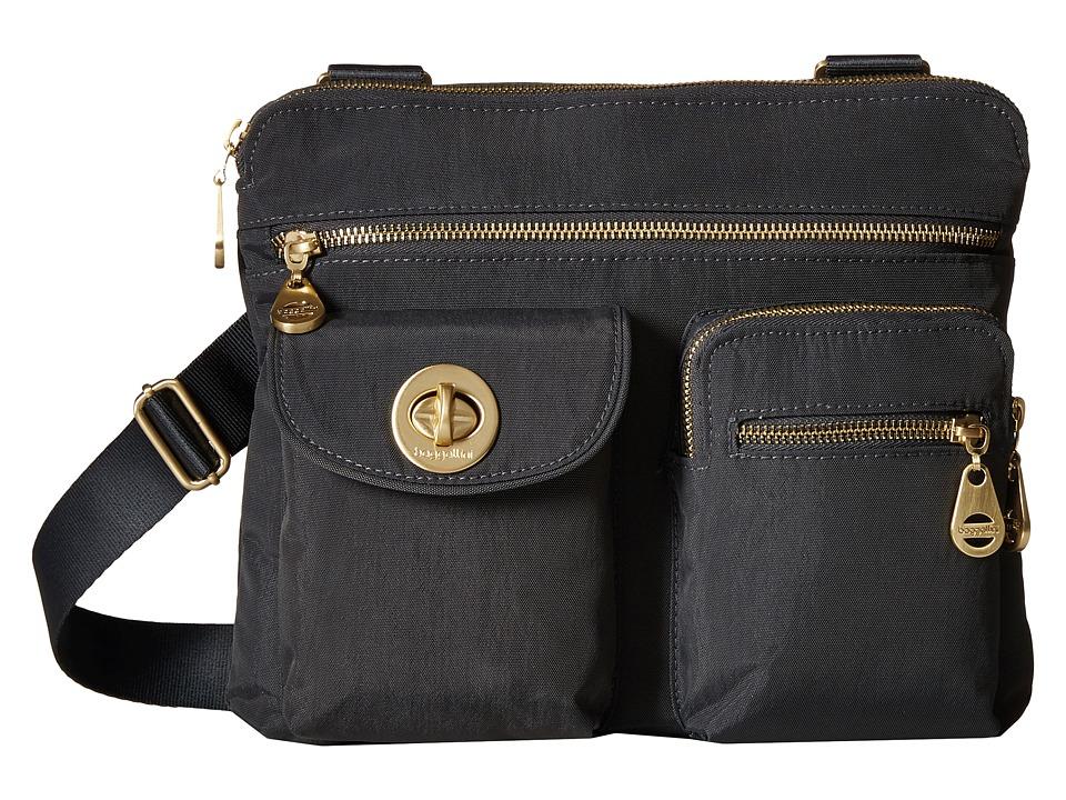 Baggallini - Gold Sydney (Charcoal) Handbags