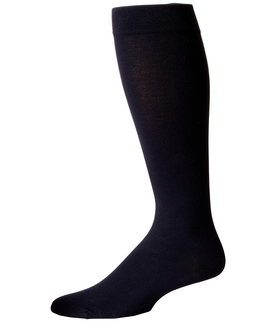 Wolford Cotton Velvet Knee Highs Admiral Mens Knee High Socks Shoes