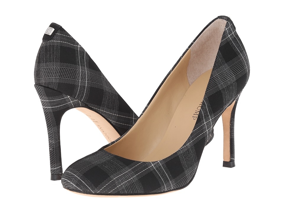 Ivanka Trump - Janie3 (Black/Grey/Plaid) High Heels