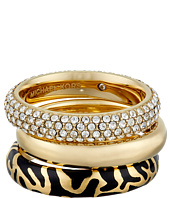 Michael Kors - Animal Instinct Stack Rings