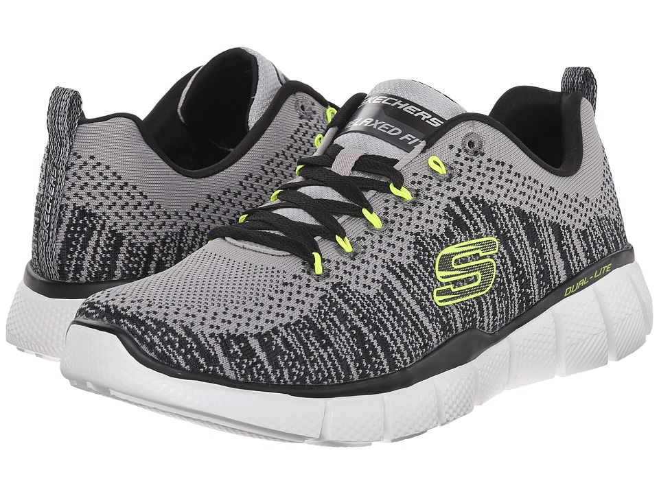 SKECHERS Equalizer 2.0 Perfect Game (Light Gray/Black) Men