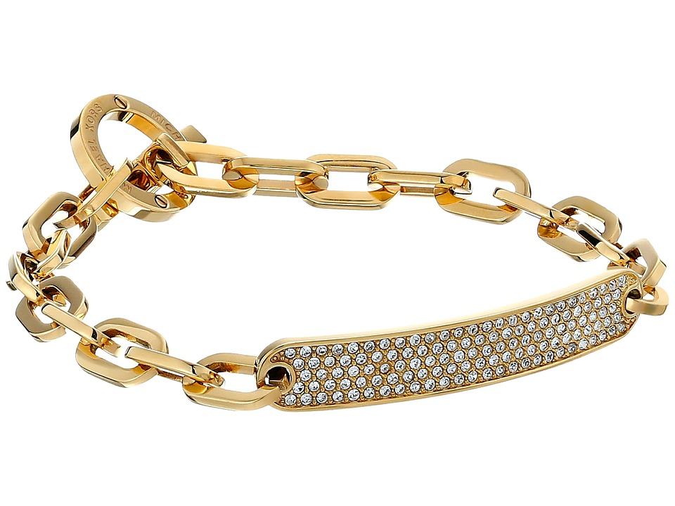 Michael Kors Barrel Bracelet Toggle Bracelet Gold Bracelet