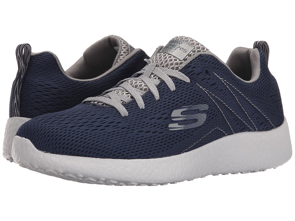SKECHERS Energy Burst Second Wind (Navy/Gray) Men