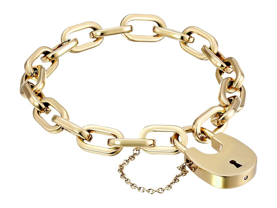 Michael Kors Padlock Bracelet Link Bracelet Gold Bracelet