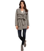 Calvin Klein - Slub Wrap Jacket w/ Belt