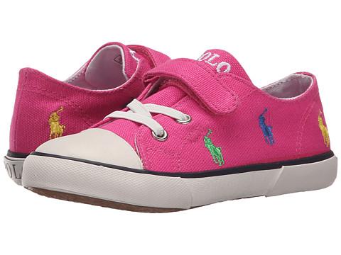 Polo Ralph Lauren Kids Kody (Toddler) - Active Pink Canvas/Multi