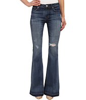 Hudson - Mia Five-Pocket Mid Rise Flare Jeans in Beaudry (Distress)