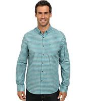 Kenneth Cole Sportswear - Long Sleeve Tonal Gingham Shirt
