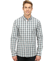 Kenneth Cole Sportswear - Long Sleeve Linear Plaid Shirt