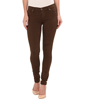 Hudson - Nico Mid Rise Skinny Jeans in Incognito Green