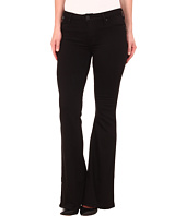 Hudson - Mia Five-Pocket Flare Jeans in Black