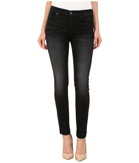 Hudson Nico Mid Rise Ankle Skinny Jeans in Andromeda