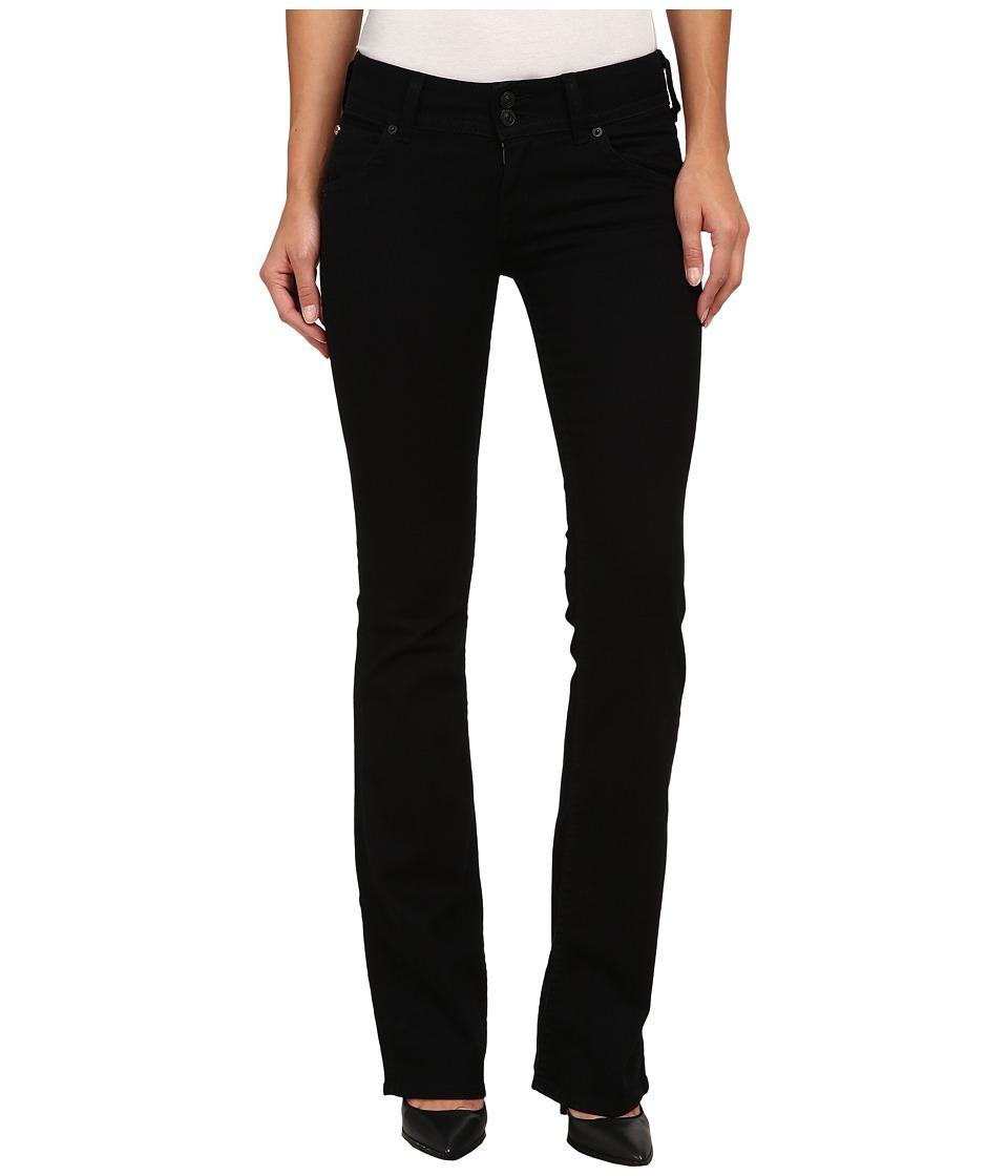 Hudson Signature Bootcut Jeans in Black Indigo Black Indigo Womens Jeans