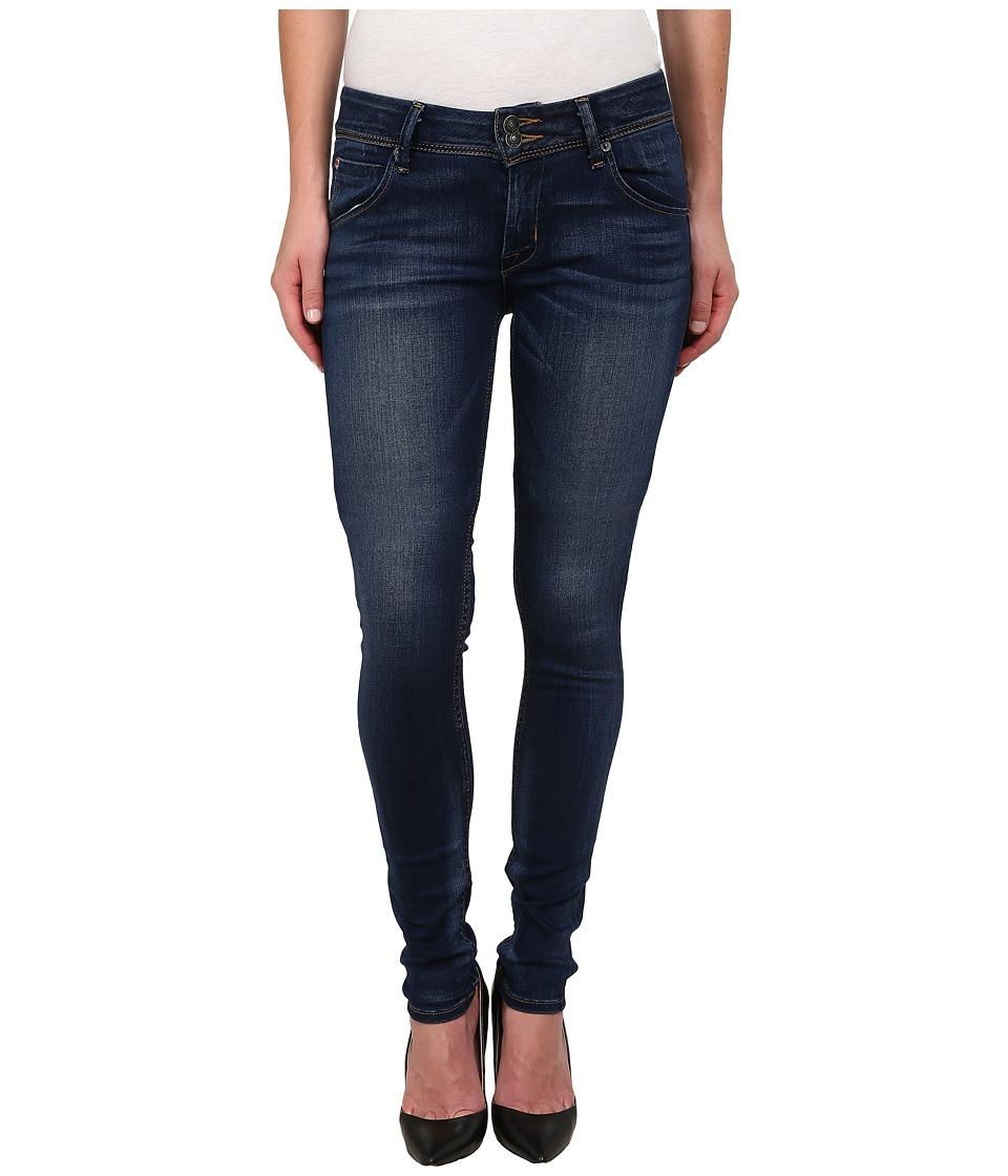 Hudson Collin Mid Rise Supermodel Skinny Jeans in Revalation Revelation Womens Jeans