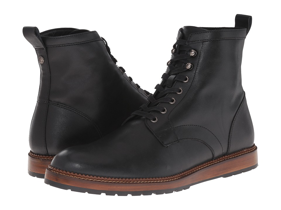 Dr. Scholls Burke Original Collection Black Mens Lace up Boots