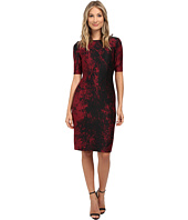 Tahari by ASL - Scuba Printed Dress