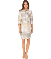 Tahari by ASL - Metallic Jacket Dress