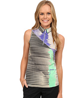 Jamie Sadock - Crunchy Textured Kinetic Print Sleeveless Top