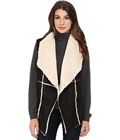 Dylan by True Grit - Soft Faux Suede Vest w/ Softest Shearling