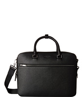 Michael Kors - Harrison Cross Grain Leather Medium Zip Briefcase