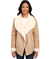 Dylan by True Grit - Soft Faux Suede Jacket w/ Softest Shearling