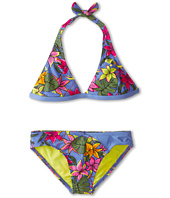 Roxy Kids - Tropics Halter Two-Piece (Big Kids)
