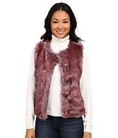 Dylan by True Grit - Rock It Color Tipped Fur Vest
