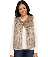 Dylan by True Grit - Rock It Color Tipped Fur Vest