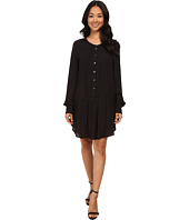 Dylan by True Grit - Laid Back Luxe Pintuck Shirtdress